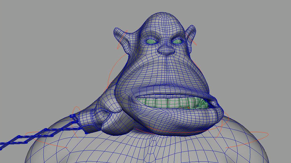 Ogre animation