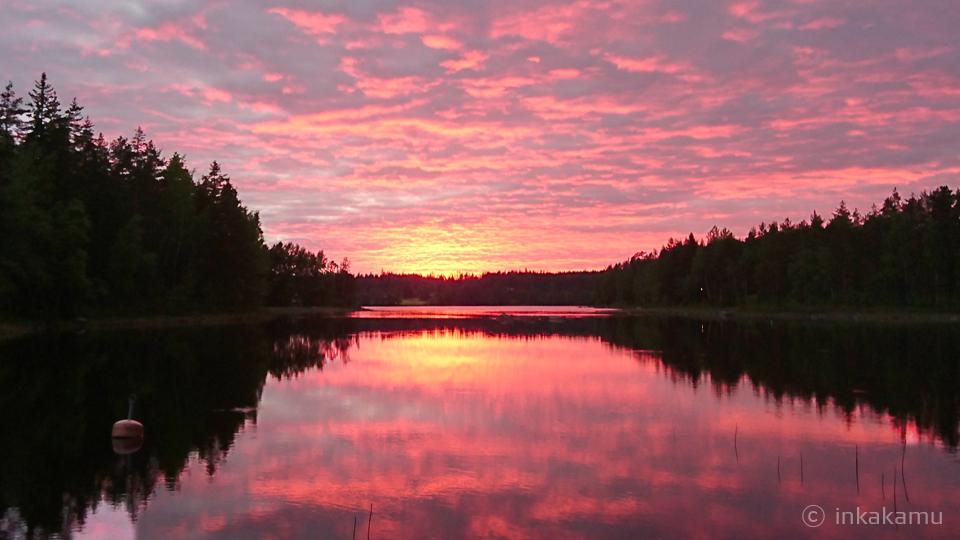 Finnish lake scene