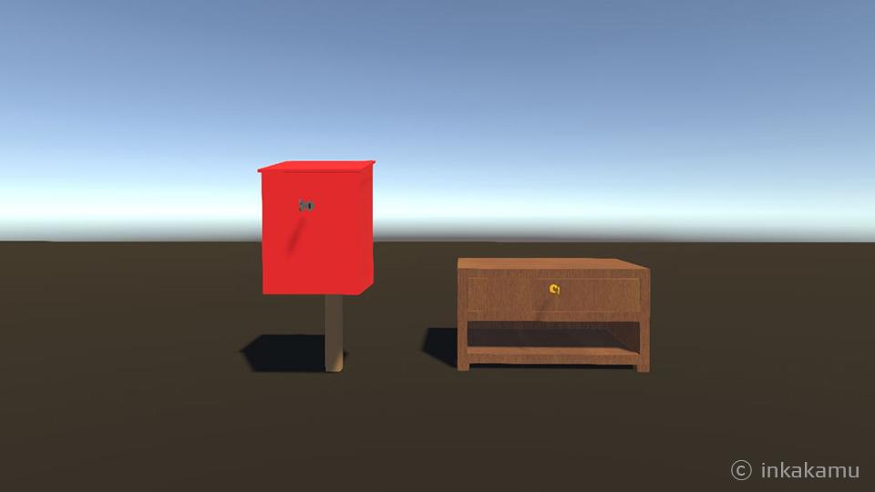 postbox and drawer - inkakamu